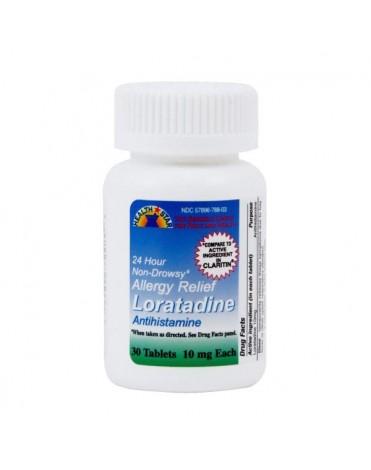 LORATADINE 10MG (CLARITIN) TABS 30CT