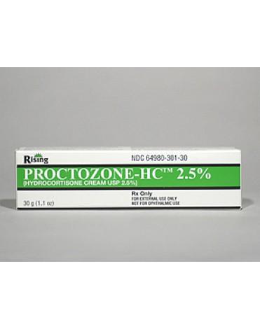 PROCTOZONE HC 2.5% CRM 30gm