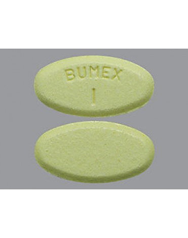 BUMETANIDE 1MG (BUMEX) TABS 100CT