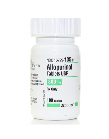 ALLOPURINOL 300MG (ZYLOPRIM) TABS 500CT