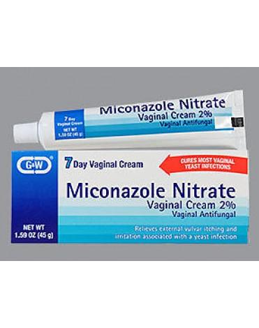 MICONAZOLE NITRATE VAG CREAM 2% 45GM