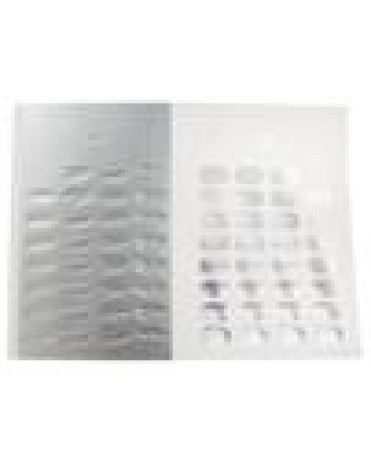 30/31 DAY HEAT-SEAL BLISTER PUNCH CARDS 1000CT
