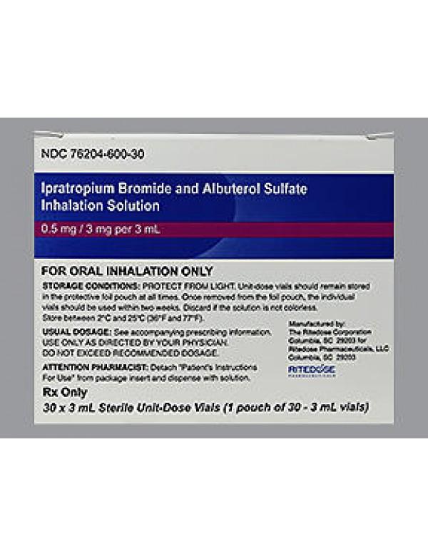 ipratropium bromide nebulizer