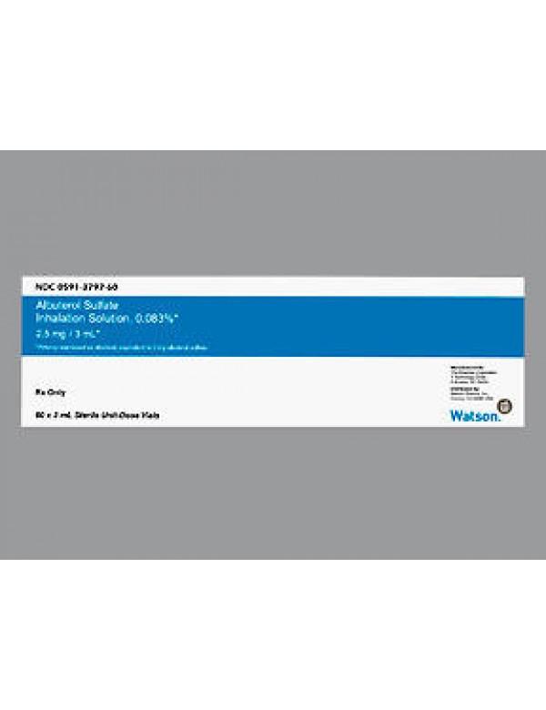 Albuterol Sulf 0 083 Proventil Sol 2 5mg 3ml 60x3ml