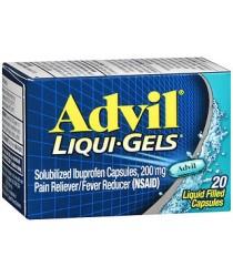 ADVIL 200MG LIQUI-GELS CAPS 20CT