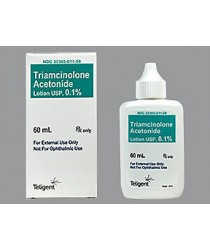 TRIAMCINOLONE ACE LOT 0.1% (ARISTOCORT) LOT 60ML