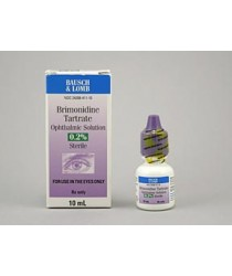 BRIMONIDINE TART .2% OPHTH (ALPHAGAN) SOL 10ML