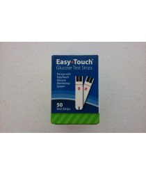 EASYTOUCH TESTS STRIPS GLUCOSE TEST STRIPS 50CT