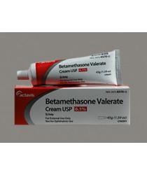BETAMETHASONE VAL 0.1% CRM 45GM