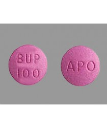 BUPROPION HCL 100MG TABS 100CT