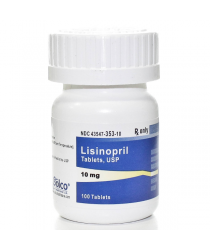 LISINOPRIL 10MG (ZESTRIL) TABS 100CT