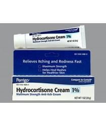 HYDROCORTISONE TOPICAL CREAM 1% 30GM