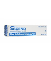 SSD 1%  (SILVER SULFADIAZINE GENERIC FOR THERMAZENE) CREAM 85GM