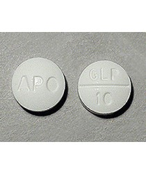 GLIPIZIDE 10MG (GLUCOTROL) TABS 100CT