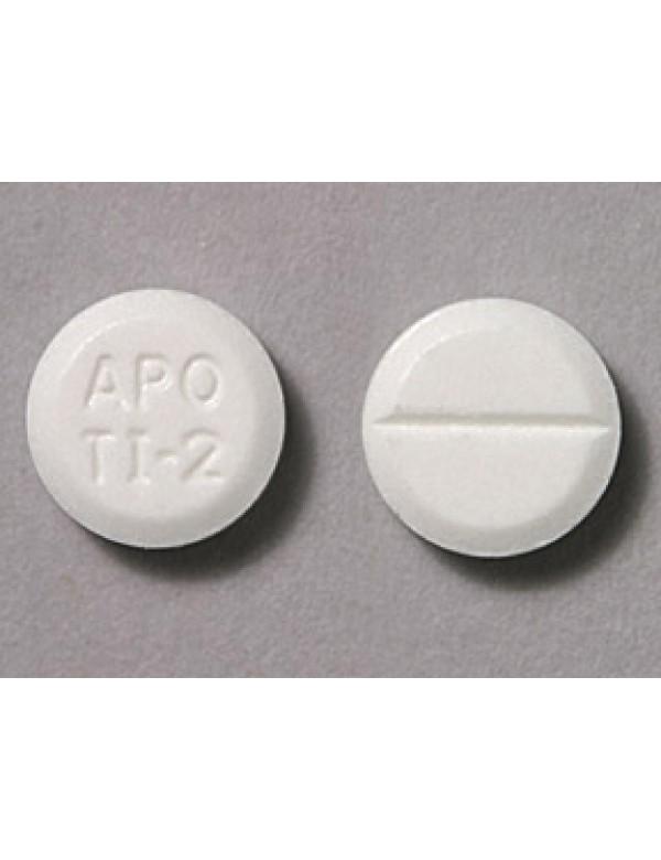 Tizanidine Oral White Apo Ti2 Pill